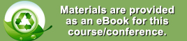 Materials are provided as an ebook for this course.