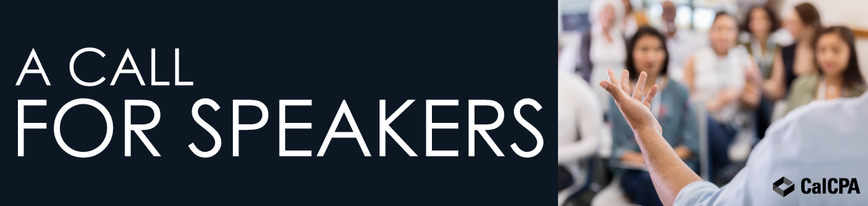 A Call for Speakers