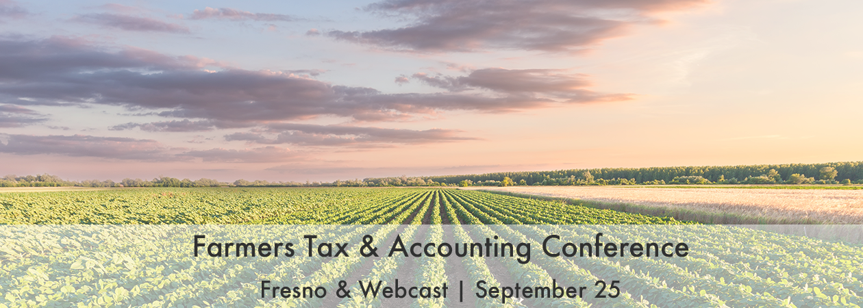 Farmers Tax & Accounting Conference
