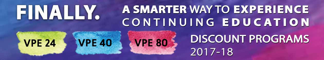 Discount programs 2017-2018 VPE24 VPE40 VPE80