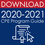 Download the 2020 - 2021 CPE Program Guide