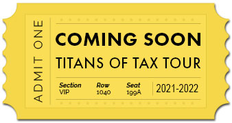 Titans of Tax Tour