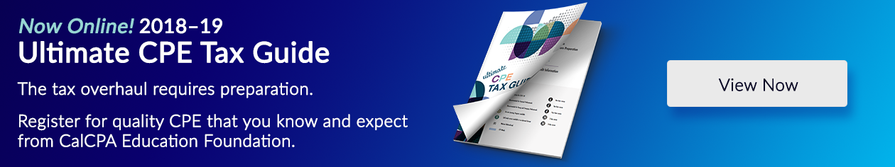 View Online - 2018-19 Ultimate CPE Tax Guide